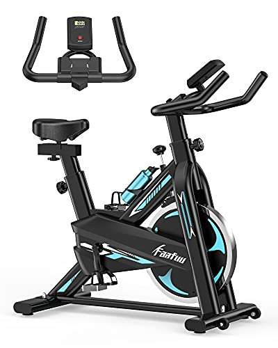 Exercise Bike - Indoor Cycling Bike for Home Gym with...