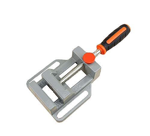 Mini Drill Press Vice,Quick Release 65mm (2.55') Adjustable Aluminium Pillar Drill Press Vice Jaw Alloy Wood Clamp Bench Vise for Workshop Woodworking