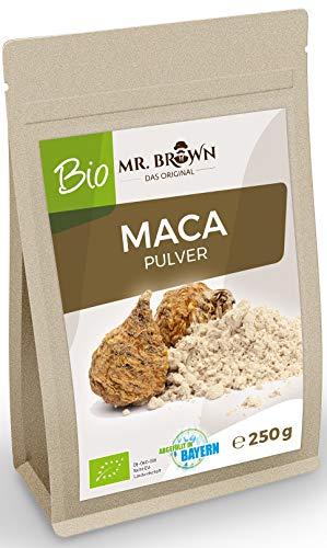 MR. BROWN BIO Maca poeder uit Peru 250 g fijngemalen