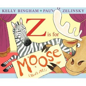 Z Is for Moose [z is for moose] Kelly Bingham, Paul O. Zelinsky (Illustrator)