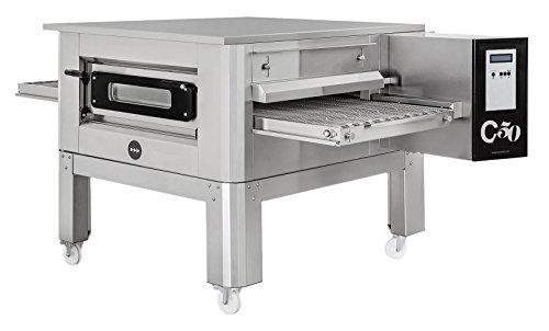 Horno de pizza tipo túnel C/50 Prismafood Premium, adecuado para bandejas de pizza...