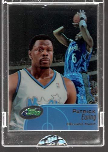 2001-02 etopps Topps Patrick Ewing Limited Edition Trading card #33 Orlando Magic