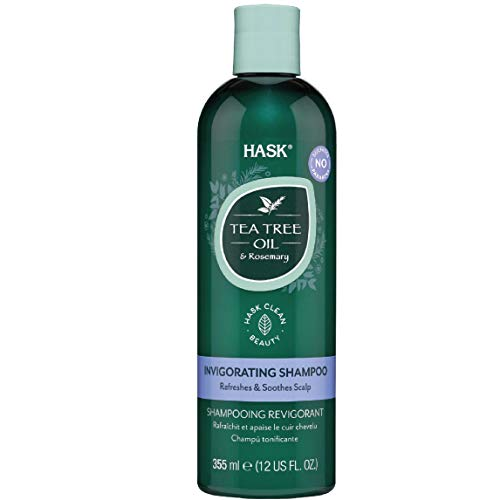 HASK Tea Tree Oil & Rosemary Invigorating Shampoo, 355ml