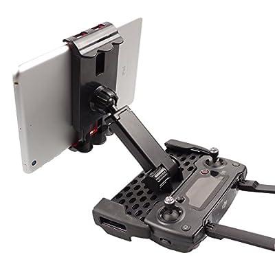 SKYREAT Upgraded Tablet Mount Holder Compatible for DJI Mavic Mini / Mavic Air /Pro/ Mavic Platinum,Remote Controller Support 4-9 inch phone & Tablet