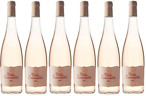 Viña Esmeralda Rosé, Vino Rosado - 6 botellas de 75 cl, Total: 4500 ml