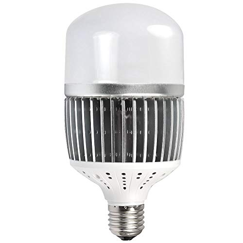 MENGS CL-Q50W Hohen Lumen E40 LED Globus Lampe 50W LED Licht Ersatz für 400W Halogenlampen Neutralweiß 6500LM AC 85-265V