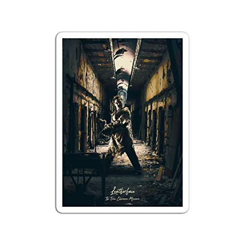 KoutYukshop Sticker Motion Picture Leatherface The Texas Chainsaw Massacre Movies Video Film (3