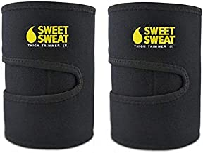 Sweet Sweat Thigh Trimmers For Men & Women, Increases Heat And Sweat Production To The Thigh Area