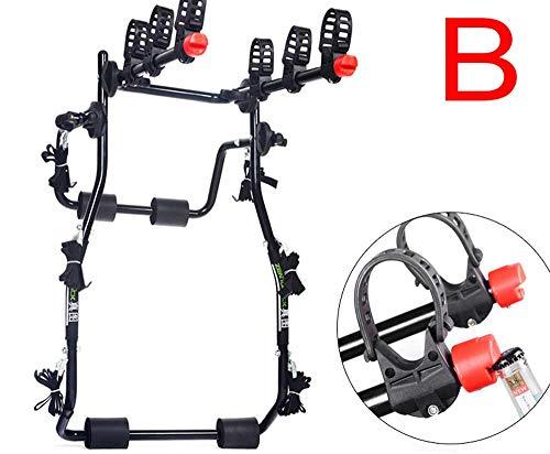 JBZP Portabici Gancio Traino -Portabiciclette per Auto Portabagagli Baule per Auto Portabiciclette Gancio Posteriore SUV Fuoristrada Universale(B)