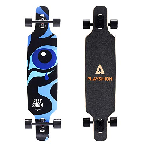 Playshion 39 Inch Longboard for Commuting