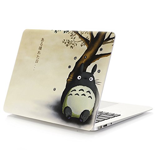 AUSMIX MacBook Pro 13 Inch Case 2020 Release (Pro 13 Model A2251/A2289), Pc Protective Case Plastic Hard Shell Case Shell Set Only Compatible MacBook Pro 13 inch 2020 - Totoro