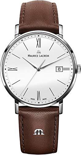 Maurice Lacroix Eliros EL1087-SS001-111-2 - Reloj de pulsera para hombre plano y ligero
