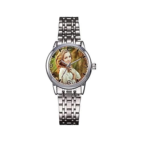 Reloj Grabado Reloj Negro Reloj Impermeable Reloj De Aleación Reloj...