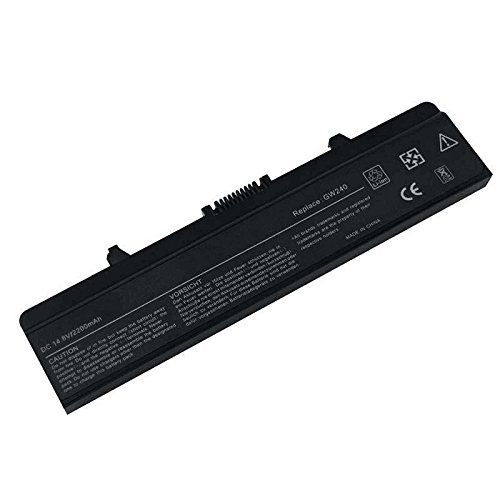 ARyee 2200mAh Laptop Battery for Dell Inspiron 1525 1526 1545 1546 1440 1750 GW240 RN873 M911G K450, Fit HP297 X284G J399N XR693 WK371 312-0625 312-0633 451-10478 451-10533 451-10528