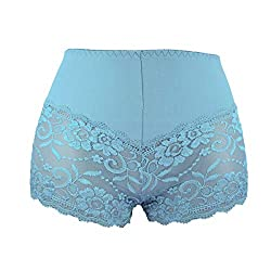 SEE THROUGH LACY LACE PANTIE KNICKERS FLORAL EXTRA STRETCH COMFORTABLE Size from UK 8 to 26 Available in 12 Colour