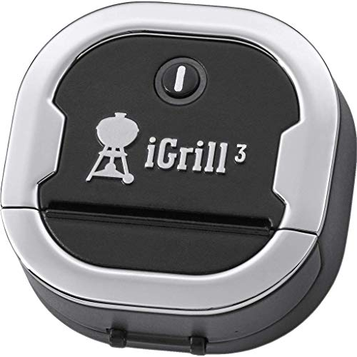 Weber Igrill 3 Thermometer, schwarz, 5,59cm x 6.6cm x 6.35cm, 7205