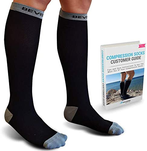 BeVisible Sports Ultimate Compression Socks 20 30mmHg For Men Women Use For Travel Office Running product image