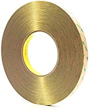 3M F9473PC Clear VHB Tape - 1/2 in Width x 60 yd Length - 10 mil Thick - 13972 [PRICE is per ROLL]