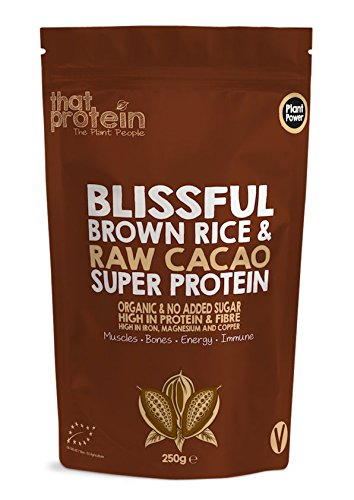 "That Protein's Award Winning Blissful Brown Rice and Raw Cacao Organic Super Protein - Voted ""Best Protein"" at the 2019 Nourish Awards"