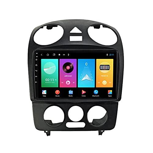 ADMLZQQ Android 10.0 In-Dash Radio Estéreo para Automóvil para Volkswagen Beetle, Pantalla Táctil 9 Pulgadas, Carplay FM Am DSP Bluetooth Cámara Trasera Ventilador De Enfriamiento,M100s 4core 1+16g