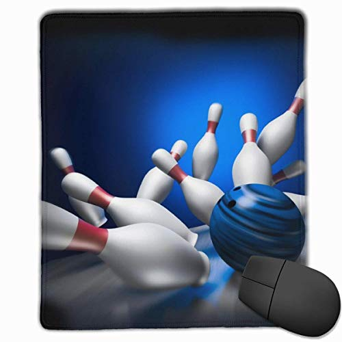 Smooth Mouse Pad, Bowling Play Mobile Gaming Mousepad Arbeitsmaus Pad Office Pad
