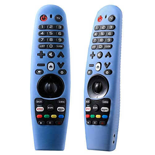 AN-MR650A AN-MR600A AN-MR19BA AN-MR18BA Universal Magic Remote Control for All LG Smart TV with Netflix and Amazon Buttons Without Voice and Pointer Function (with Remote Cover)