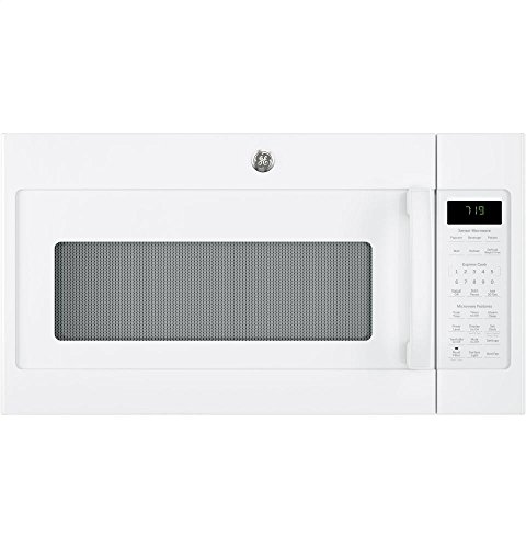 GE JVM7195DKWW 1.9 Cu. Ft. White Over-the-Range Microwa