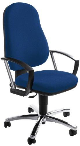 TOPSTAR 7029A G26 Home Point 50 Chaise de bureau Edition Spéciale Bleu Accoudoirs