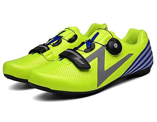 XLH Zapatos Moto elevadores Zapatos de Ciclo Adultos Unisex Casual candado Zapatos...