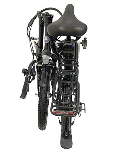 41CE7tHBWBL - GermanXia E-Bike Faltrad Mobilemaster E-Klapprad Touring CH-15,6 7G Shimano 20 Zoll mit/ohne Gasdrehgriff, eTurbo 250 Watt HR-Antrieb, bis zu 140 km Reichweite nach StVZO