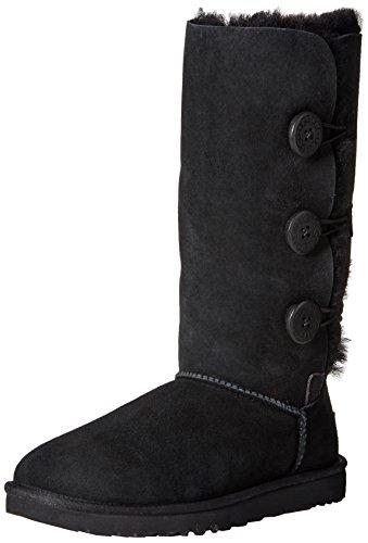 Big Sale UGG Australia Women's Bailey Button Triplet Boots Footwear Black Size 6