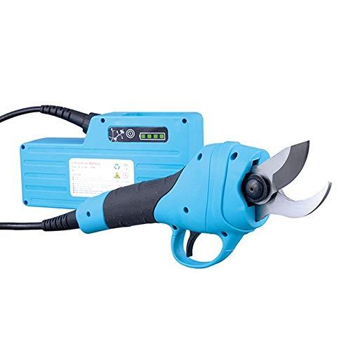 XD7 Tijeras de podar eléctricas Profesionales Tijeras de podar eléctricas Tijeras de podar de Litio Tijeras de jardín Profesionales 36V 30mm (1.2 Pulgadas) Diámetro de Corte