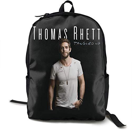 Rucksack Schulrucksack Thomas Rhett Backpack Campus School Bag Casual Backpack Gym Travel Hiking Canvas Backpack