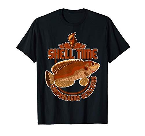 Aquarium Schneckenbuntbarsch Tanganyika Cichlide Buntbarsch T-Shirt