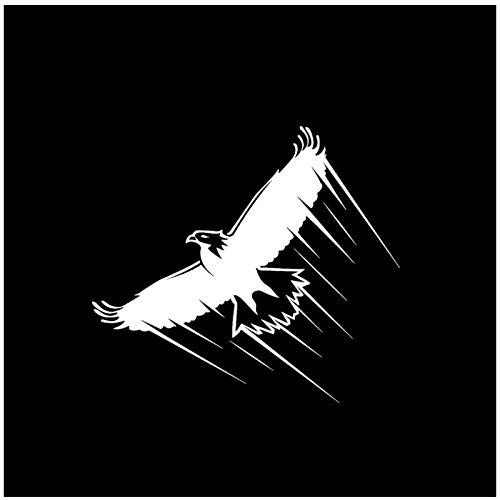 Autosticker, adler vliegen vogel, zelfklevende pvc, autosticker, raam, autosticker, 14 x 16 cm, 4 stuks
