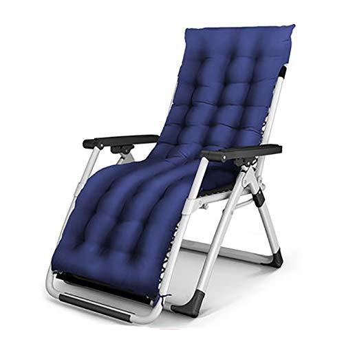 BLWX - Chaise pliante - Fauteuil inclinable Pause-déjeuner pliante Siesta Bed Multi-function Home Office Portable Plage Loisirs Femmes enceintes par chaise Chaise pliante (Couleur : F)