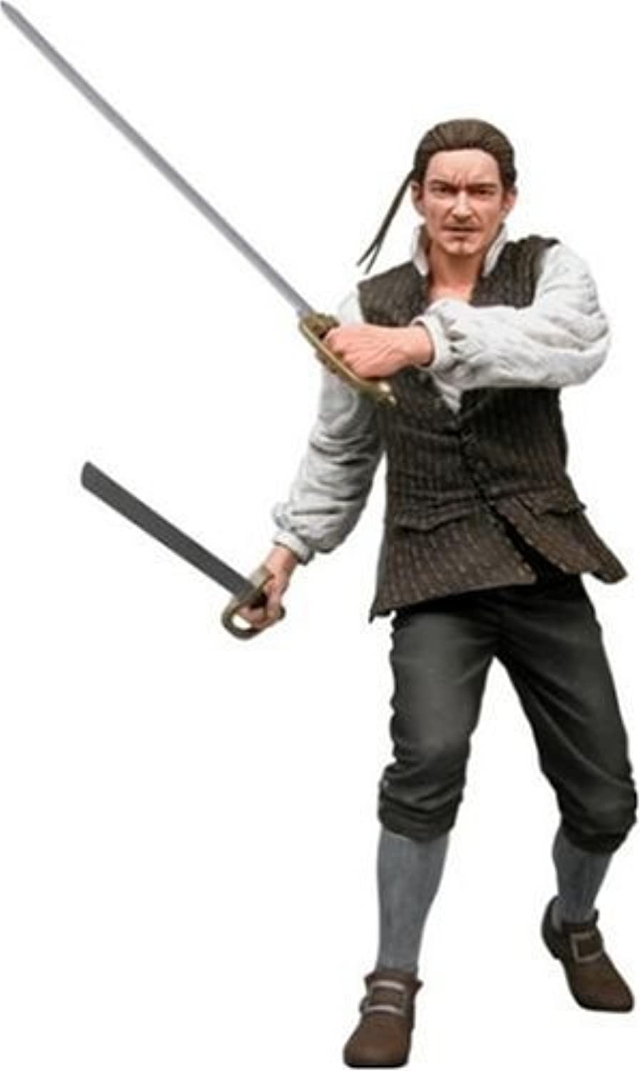 con 60% de descuento NECA Pirates of the Cocheibbean Curse of of of the negro Pearl Series 2 Acción Figura Will Turner by NECA  para barato
