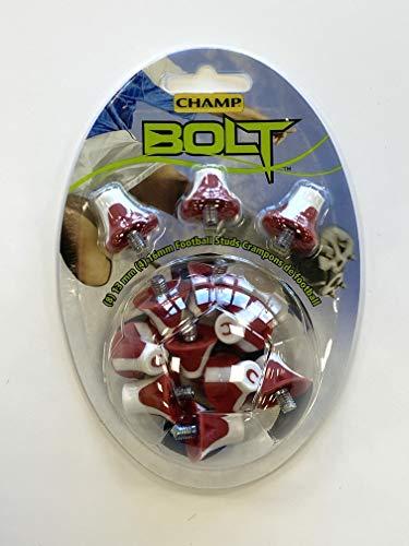 Champ BOLT02R, Borchie da Calcio Unisex-Adult, Multicolor, Taglia Unica