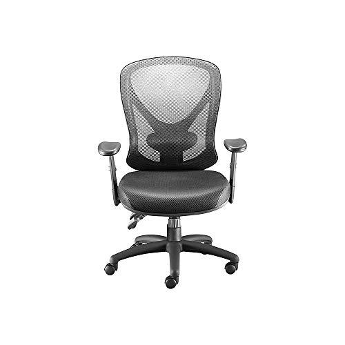 STAPLES 136815 Carder Mesh Office Chair Black (24115-CC)