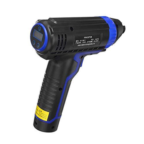 Inflador De Neumáticos DigitalInflador De Neumáticos Recargable USB De Mano Inalámbrico Para Compresor De Aire De Coche De 120 Wpara Coche Motocicleta