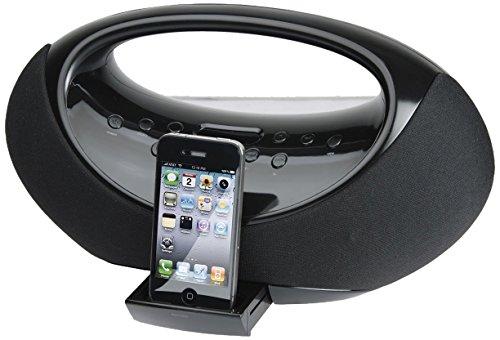 Odys Loop Dockingstation für Apple iPod/iPhone (Radio, Line-In, Fernbedienung) schwarz