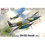 AZmodel 1/72 イギリス空軍 デ・ハビランド DH-103 ホーネット F.Mk.3 プラモデル AZM7653