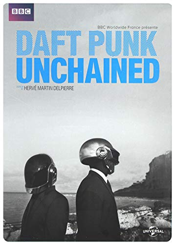 DAFT PUNK - UNCHAINED - Exklusiv FNAC Steelbook Edition (BBC FR Import) - DVD - Blu-ray Combo