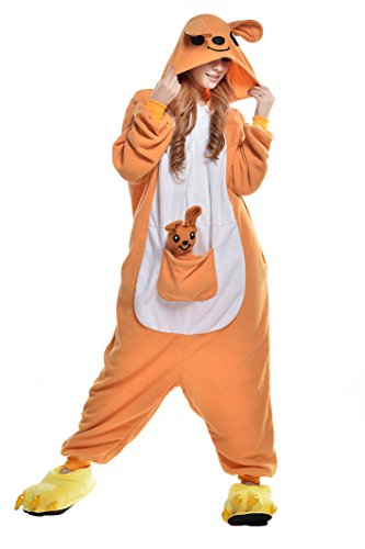 NEWCOSPLAY Onesie Halloween Kangaroo Costume (L)