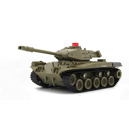 LCY Simulation 2.4G Fernbedienung Kampfpanzer Auto, Militär Taktischer Tank Fernbedienung Auto Radio Controlled Panzerfahrzeug Boy Kind Spielzeug,B
