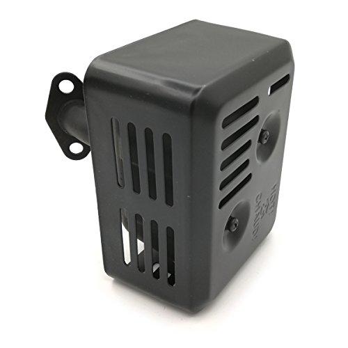 Cancanle Silenciador de escape para Honda GX120 GX160 GX200 168F 4HP 5.5 HP 6.5HP motor motor Trimmer Generador Oregon 35-038