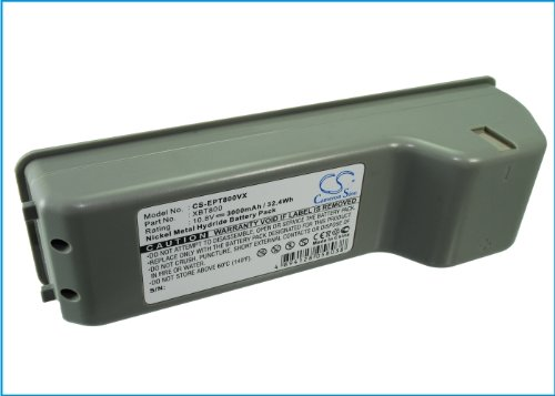 3000mAh Battery Replacement for Euro Pro Shark VX63 Shark SV800CH XBT800 XBT800W Shark SV800C Shark SV800 XSB800CH XBT800 (10.8V)