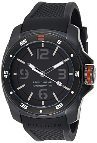 Tommy Hilfiger Men's 1790708 Analog Display...