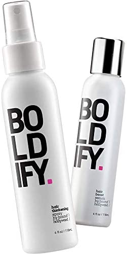 Thickening Spray Hair Boost Serum Boldify Plump Protect Bundle Volume Root Lift Texture Instant product image