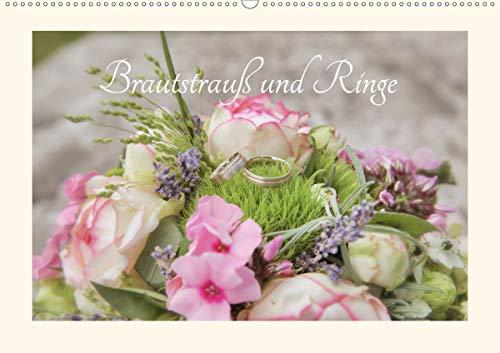 Brautstrauß und Ringe (Wandkalender 2020 DIN A2 quer)